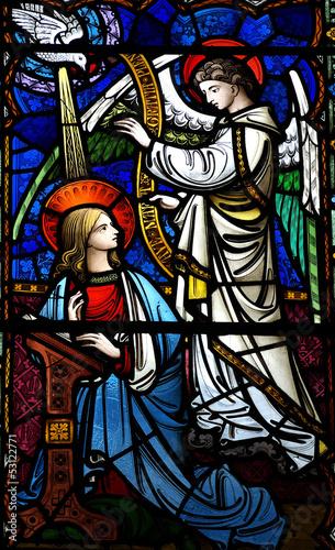 Obrazy religijne zwiastowanie-maryja-i-aniol-gabriel