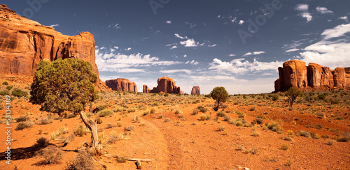 Poster Route 66 Monument Valley 2