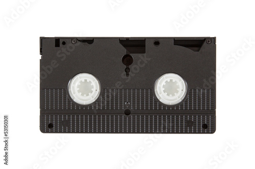 Fotografia, Obraz  Very old videotape (video cassette)