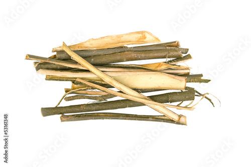 Cuadros en Lienzo Willow bark medical