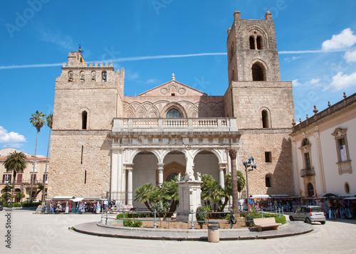 La pose en embrasure Palerme Palermo - Monreale cathedral