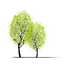 Two Spring Trees For Your Design