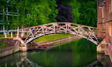 Mathematical Bridge Over River...