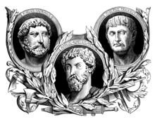 Ancient Rome : 3 Emperors