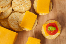 Chedder Cheese And Cracker App...