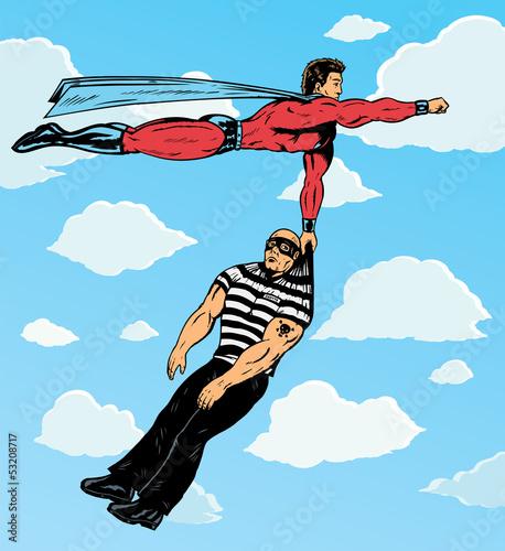 superbohater-chwytajacy-zloczynce