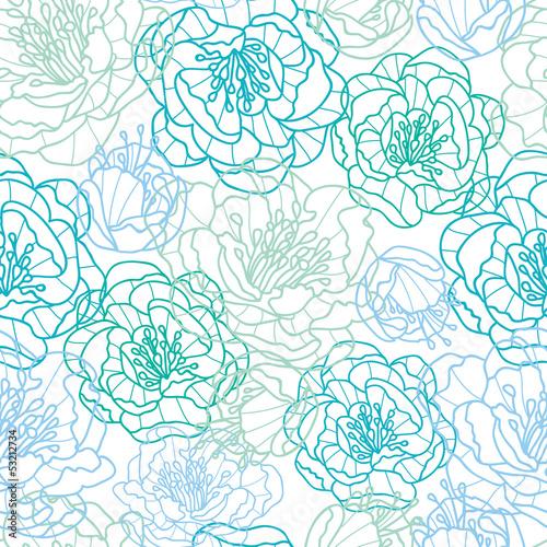 wektorowa-niebieskiej-linii-sztuka-kwitnie-eleganckiego-bezszwowego-deseniowego-tlo