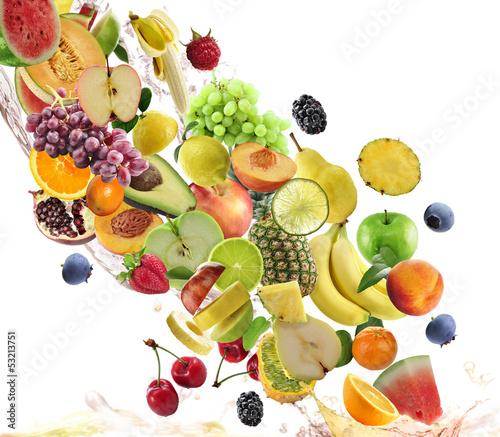 Papiers peints Fruits Fresh Fruits Collection