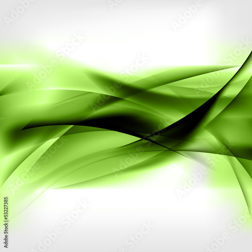 Photo Stands Fractal waves Abstract colored wave on background