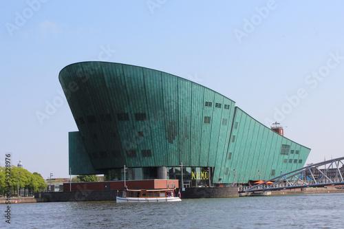 Fotografie, Obraz Science Center NEMO Amsterdam