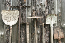Used Farm Hand Implements On W...