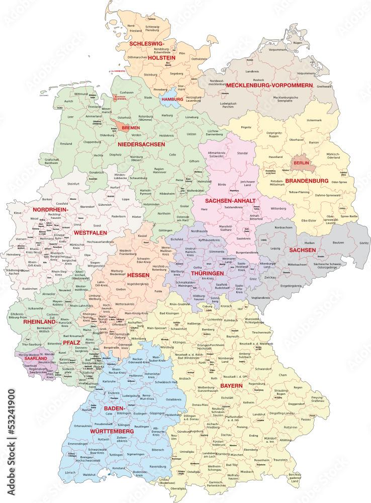 Gamesageddon Stock Deutschland Bundeslander Landkreise