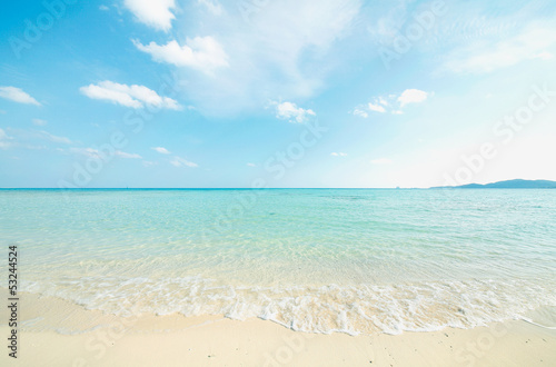 Printed kitchen splashbacks Light blue 沖縄のビーチ