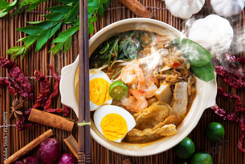 Fotografía  Malaysian food