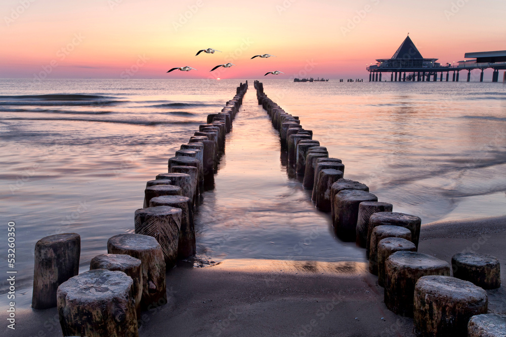 Fototapety, obrazy: am Strand von Usedom