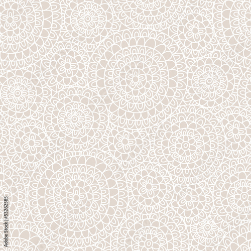 Seamless abstract ornament Wallpaper Mural