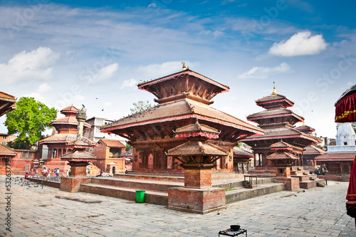 Wall Murals Nepal Durbar square in Kathmandu valley, Nepal.