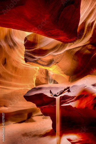 Printed kitchen splashbacks Magenta antelope canyon, az