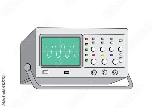 Fotografie, Obraz  oscilloscope
