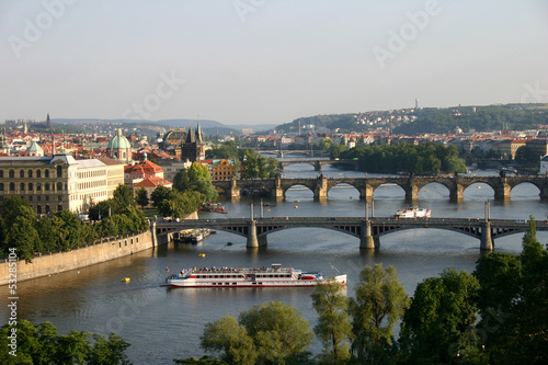 Aluminium Prints Prague prague's bridges