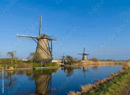 Poster Molens dutch windmills