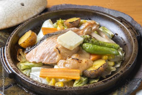 Deurstickers Klaar gerecht 鍋料理