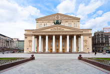 Bolshoi Theater Building In Moscow, Russia