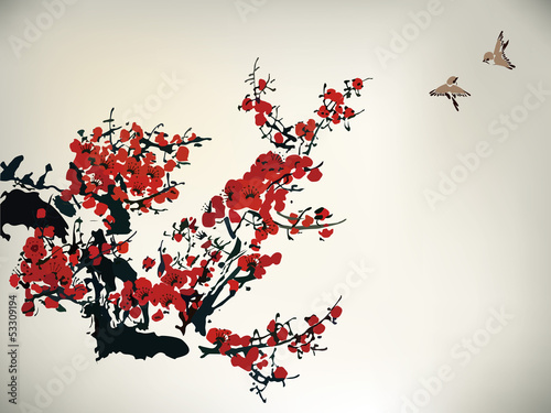 kwitnaca-wisnia-chinska