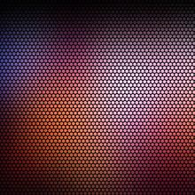 Nebular Mist Mosaic Vector Background