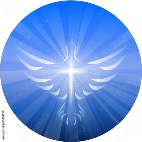 Valokuva  Dove Representing God's Holy Spirit