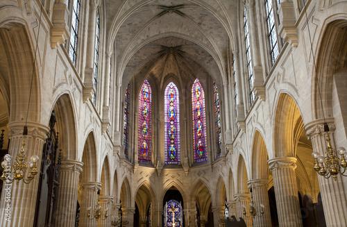 Cuadros en Lienzo gothic church from Paris -Saint-Germain