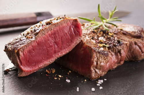 Aluminium Prints Steakhouse steak