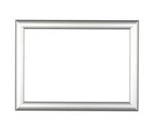 Modern Silver Frame