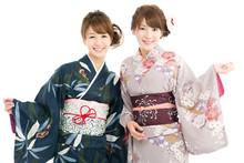 Beautiful Japanese Kimono Wome...