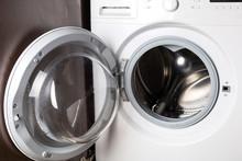 Empty Washing Machine At Home