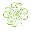Clover with Eco signs