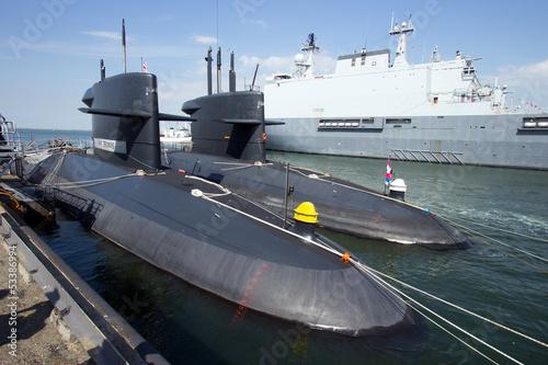 Fotografia Submarines