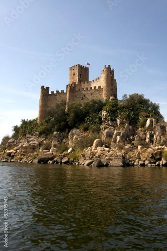 Fotografie, Obraz  Almourol Castle in Portugal