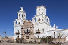 San Xavier Del Bac Mission Near Tucson, Arizona