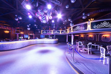 The Interior Of One Of The Rooms Of The Nightclub