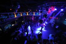 The People On The Dance Floor Of The Nightclub