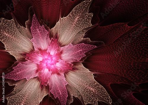 purpurowy-futurystyczny-kwiatu-tlo