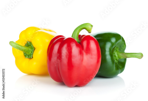Papel de parede Colorful bell peppers