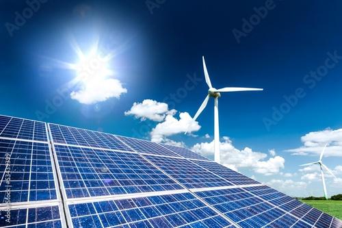 Fotografie, Obraz  clean energy