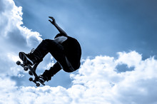 Blue Toned Moonlight Skateboar...