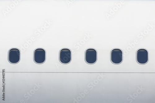 Türaufkleber Flugzeug Windows of the airplane