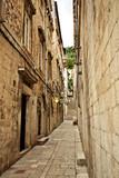 Dubrovnik side alley at dawn