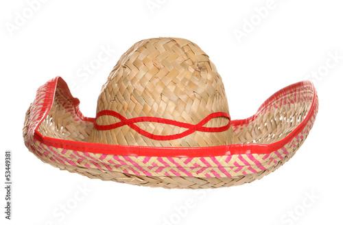 Fotografie, Obraz  Mexican sombrero hat