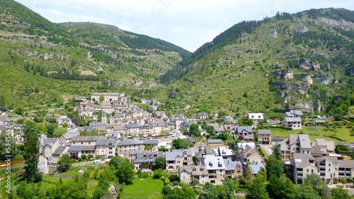 Foto op Canvas Guilin Sainte-Enimie, Gorges du Tarn, Lozère