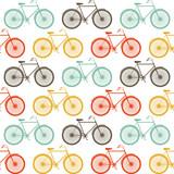 Wektorowy bezszwowy wzór z rowerami - 53457353